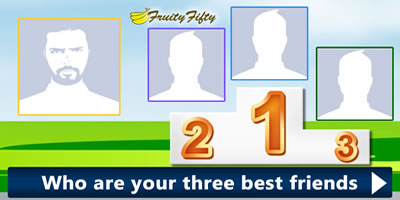 Who Are Your Three Best Friends? Find Out Now