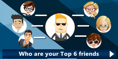 Who Are Your Top Six Friends?