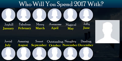 Who Will You Spend The New Year 2017 With?